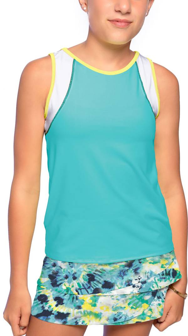 Lucky In Love Girls' Let It Be Tennis Tank Top product image