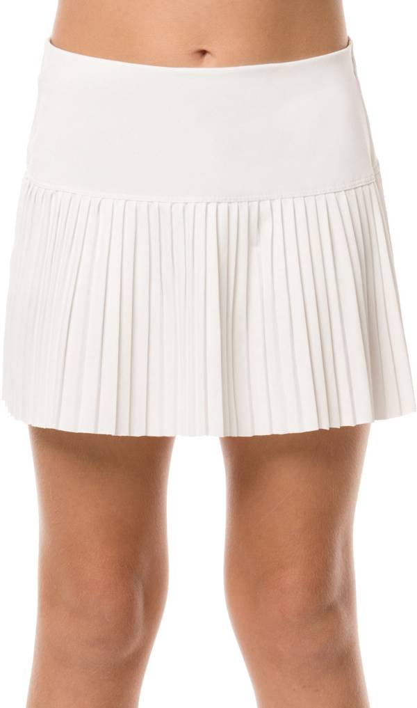 Lucky In Love Girls' Pleated Tennis Skirt product image