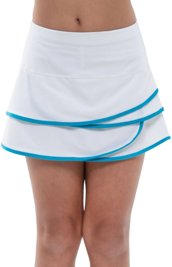 Lucky In Love Girls' Scallop Tennis Skirt product image