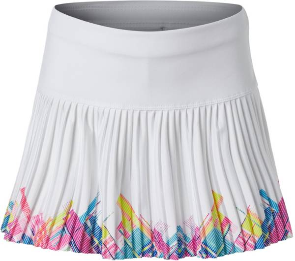 Lucky in Love Girls' Spring Mini Plaid Pleated Tennis Skirt product image