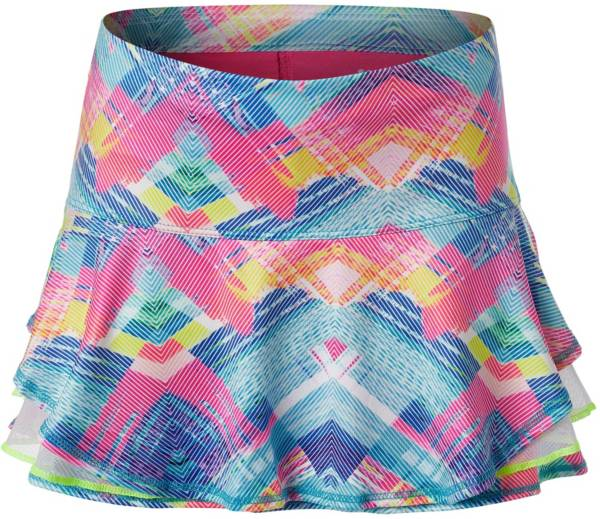 Lucky in Love Girls' Spring Plaid About You Tennis Skirt product image