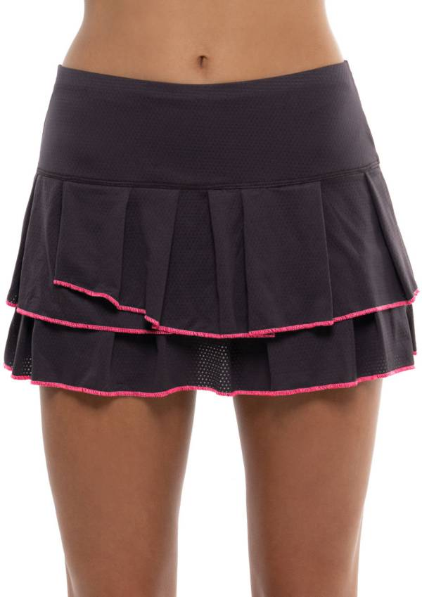 Lucky in Love Women's Pindot Pleat Tier Tennis Skirt product image
