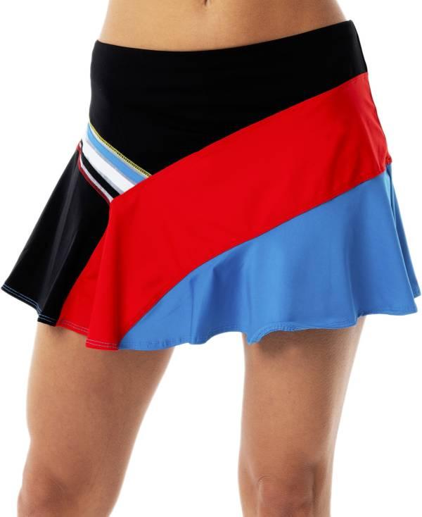 Lucky In Love Women's Asymmetrical Tennis Skirt product image