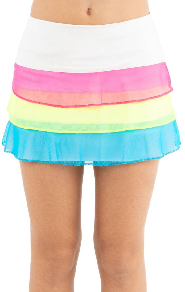 Lucky in Love Girls' Triple Threat Mesh Tennis Skort product image