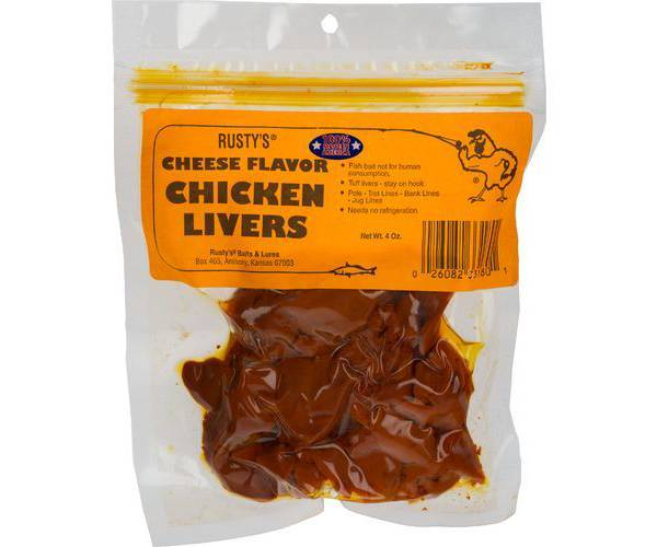 Rusty's Cheese Chicken Liver Bait product image