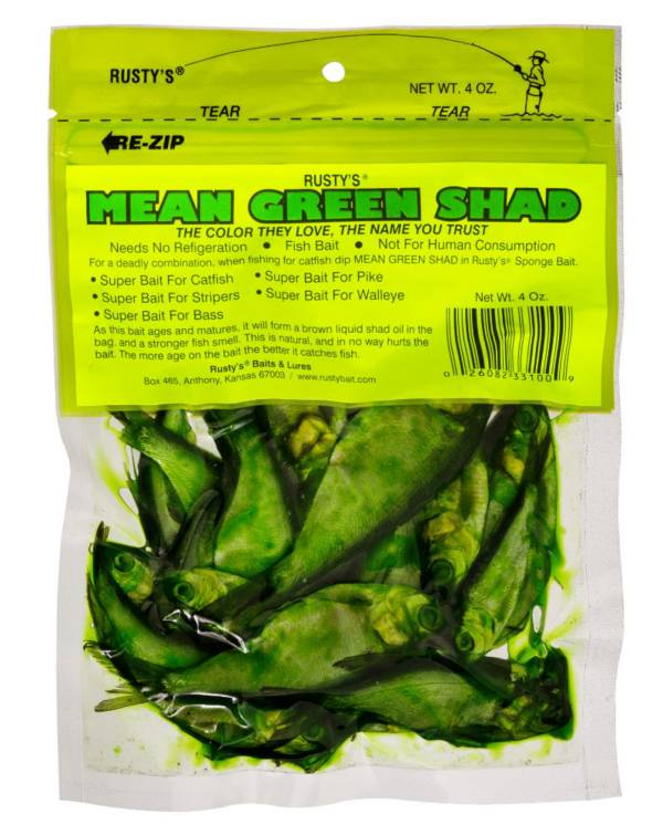 Rusty's Mean Green Shad Bait product image