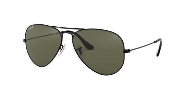 Ray Ban Aviator Large Metal Polarized Sunglasses product image