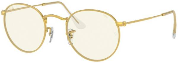Ray Ban Round Metal Blue Light Glasses product image