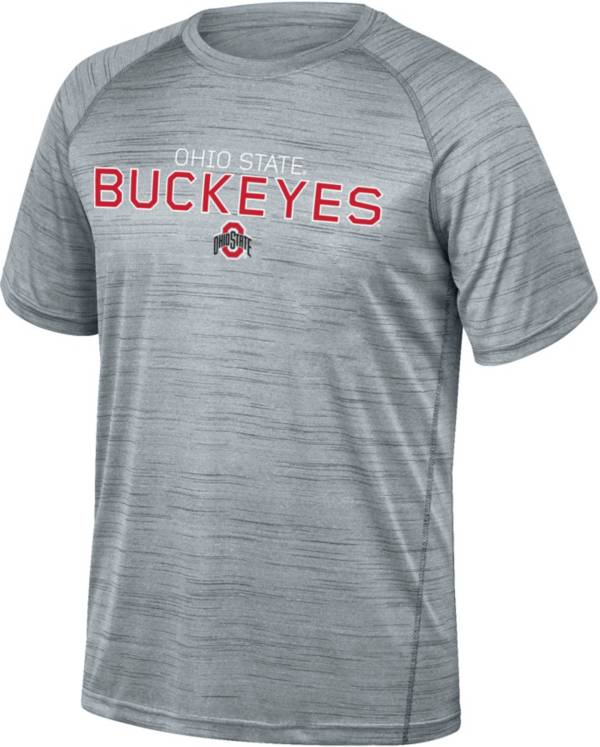 Scarlet & Gray Men's Ohio State Buckeyes Gray Breakout T-Shirt product image