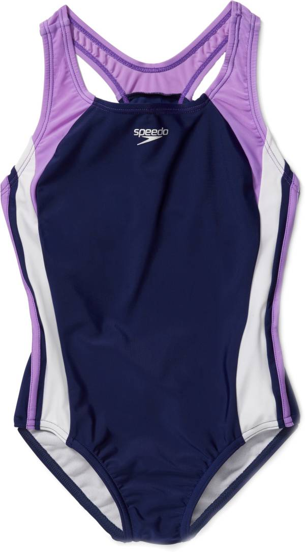 Speedo Girl's Infinity Splice Swimsuit product image