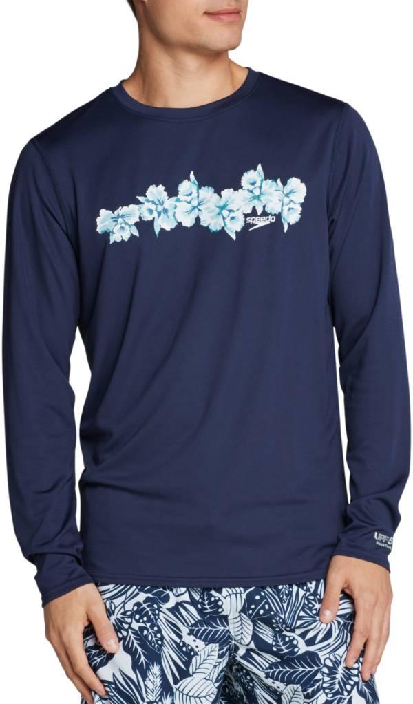 Speedo Men's Graphic Long Sleeve Swim Shirt product image