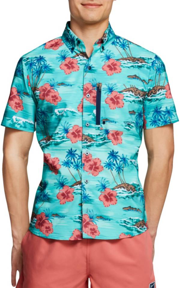 Speedo Men's Seaside Floral Paddle Shirt product image