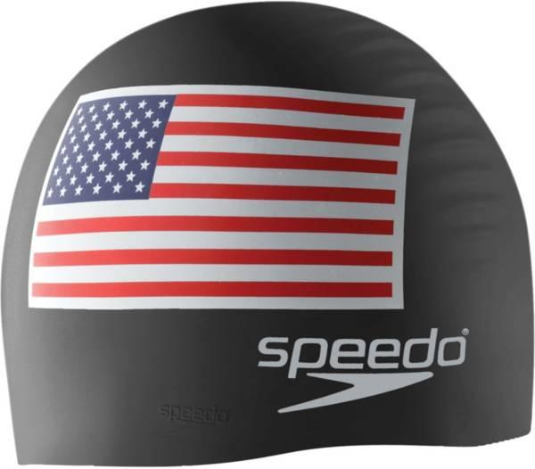 Speedo Flag Silicone Swim Cap product image