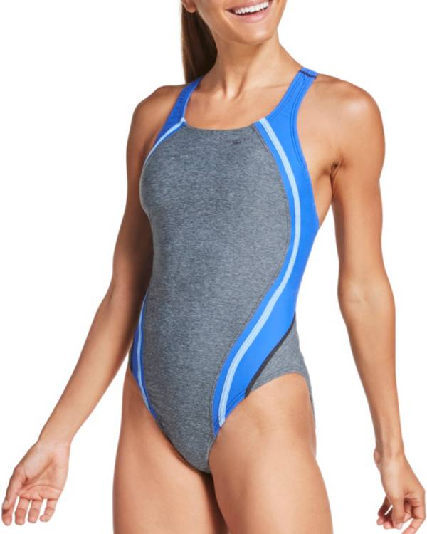 Speedo Women's Heather Quantum Splice One Piece Swimsuit product image