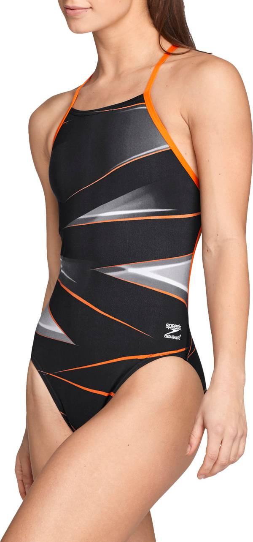 Speedo Women's Infinite Pulse Crossback Swimsuit product image