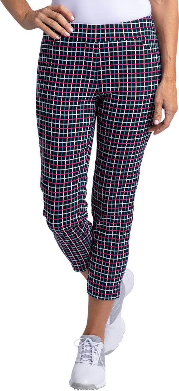 Sport Haley Women's Slimsation Skinny Printed Cropped Pants product image