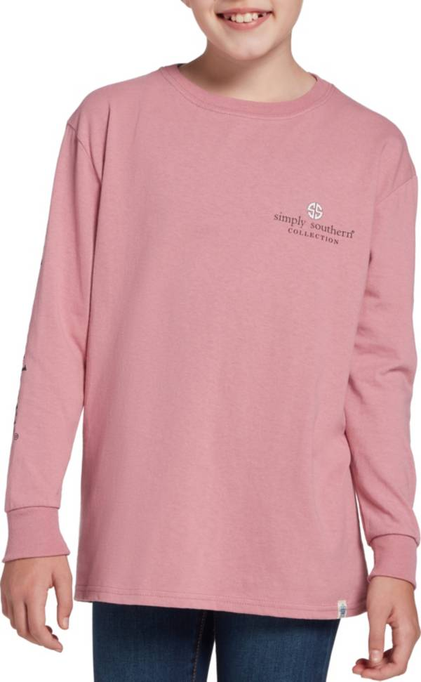 Simply Southern Girls' Be You Long Sleeve Shirt product image