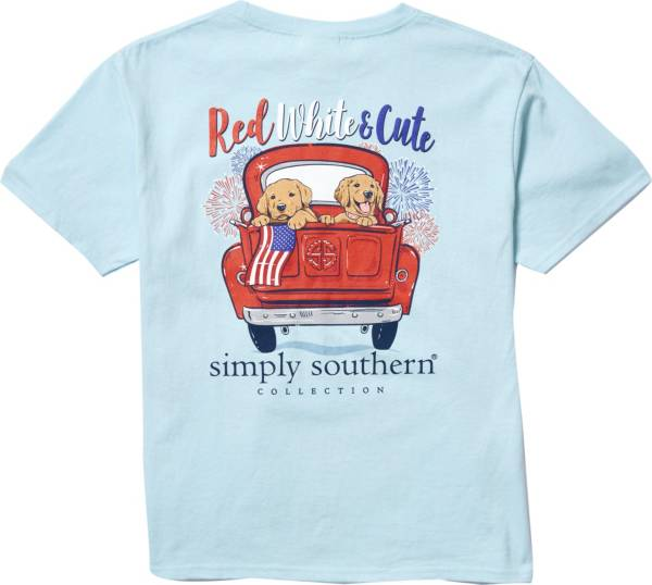 Simply Southern Girls' Cute Short Sleeve T-Shirt product image