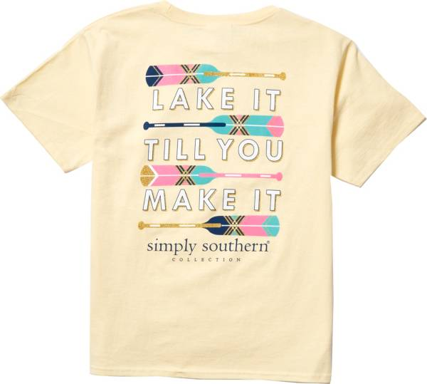 Simply Southern Girls' Lake Graphic T-Shirt product image