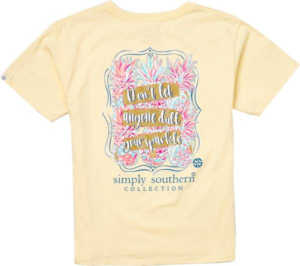 Simply Southern Girls' Sparkle Short Sleeve T-Shirt product image