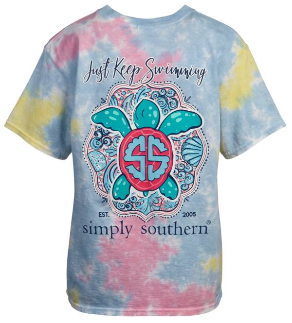 Simply Southern Girls' Swimming  T-Shirt product image
