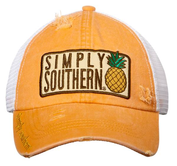 Simply Southern Women's Pineapple Trucker Hat product image
