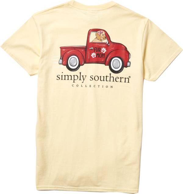 Simply Southern Women's Fur Short Sleeve T-Shirt product image