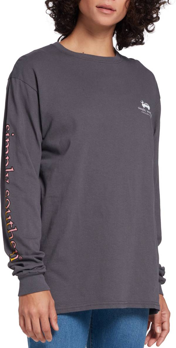 Simply Southern Women's Mountain Air Long Sleeve Shirt product image