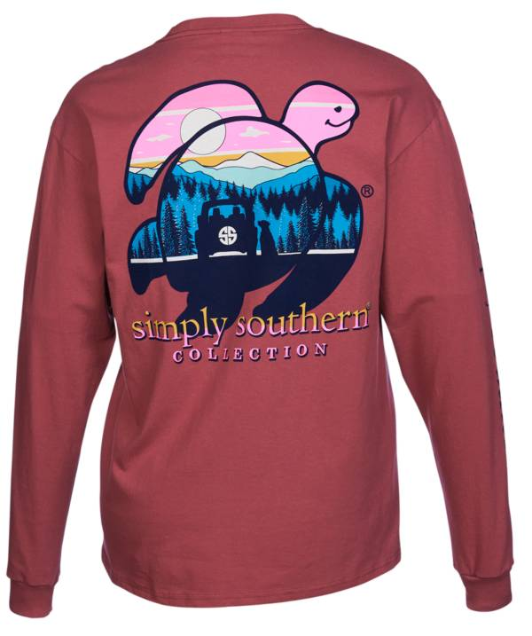 Simply Southern Women's Save Mountain Long Sleeve T-Shirt product image