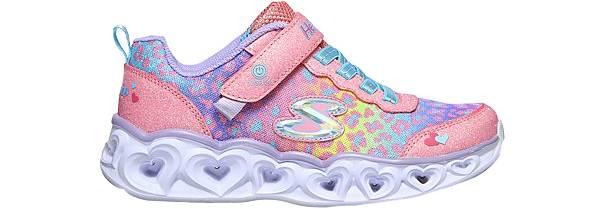 Skechers Kids' Preschool Heart Lights Love Match Shoes product image