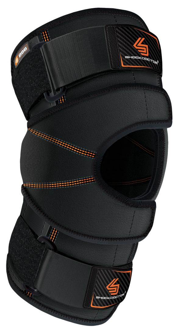 Shock Doctor Dual Wrap Knee Brace with Hinges product image