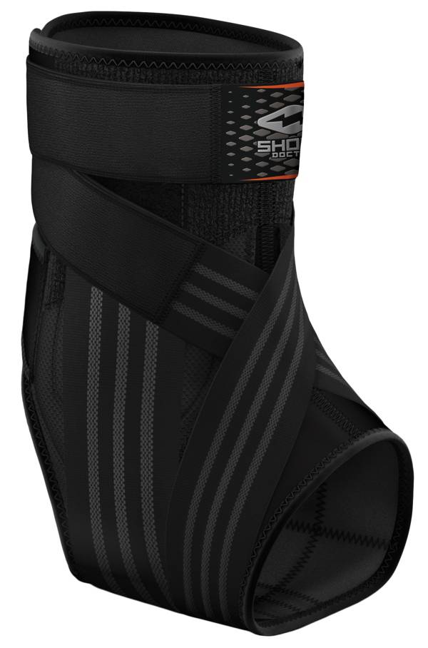 Shock Doctor Ultra Laceless Figure 8 Straps Ankle Brace with Stirrup Stays product image