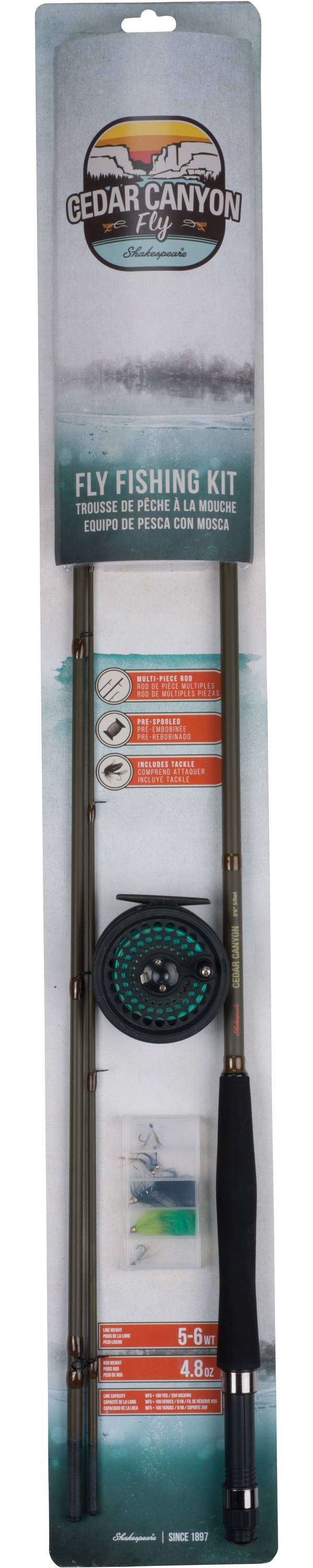 Shakespeare Cedar Canyon Fly Fishing Kit product image