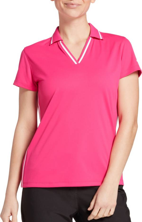 Slazenger Women's Ribbed Inset Short Sleeve Golf Polo product image