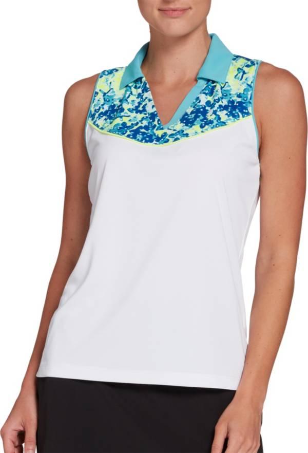 Slazenger Women's Refresh Printed Sleeveless Golf Polo – Extended Sizes product image