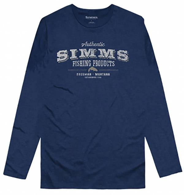 Simms Men's Working-Class Graphic Long Sleeve Shirt product image