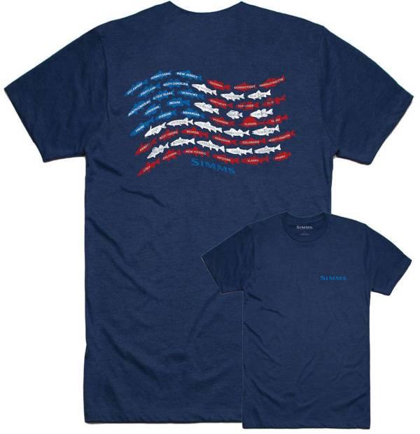 Simms Men's Upstream USA T-Shirt product image