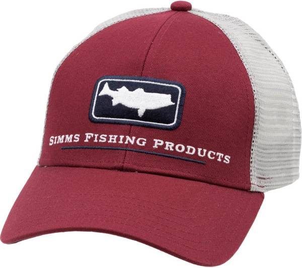 Simms Adult Striper Icon Trucker Hat product image