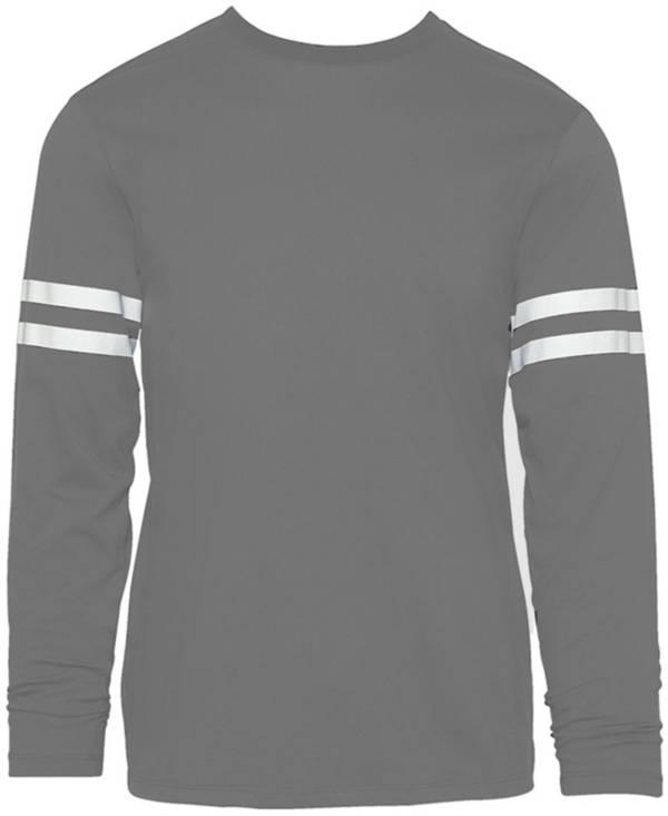 Soffe Men's Striped Long Sleeve Shirt product image