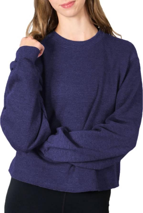 Soffe Women's Cropped Crew Neck Sweatshirt product image