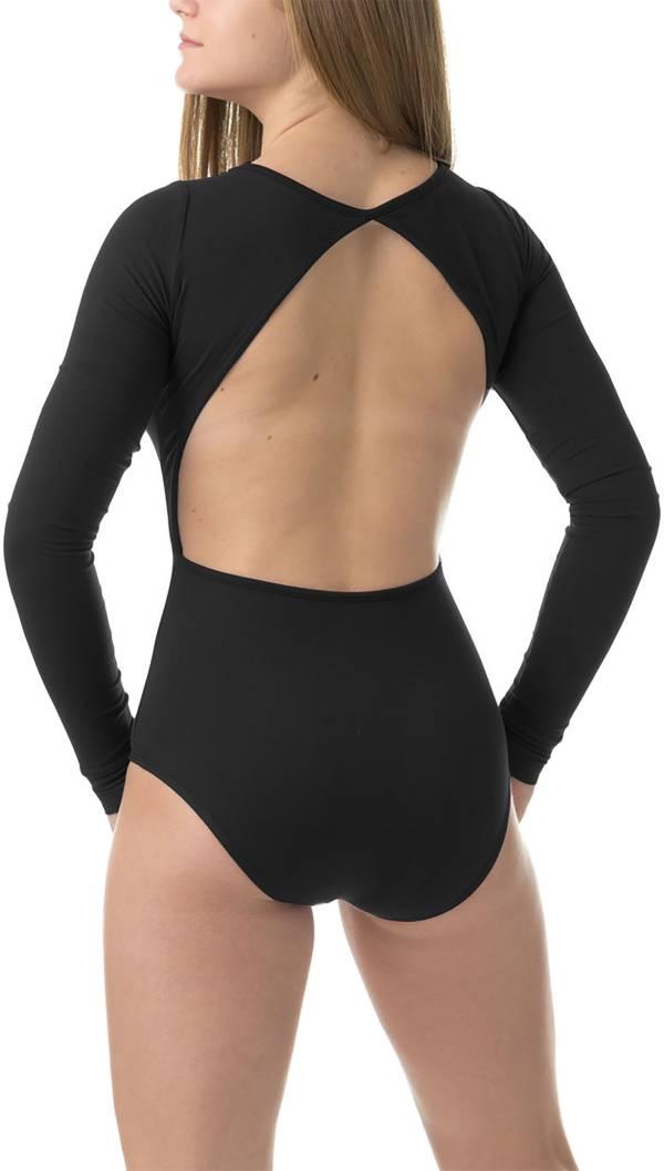 Soffe Women's Open Back Long Sleeve Leotard product image