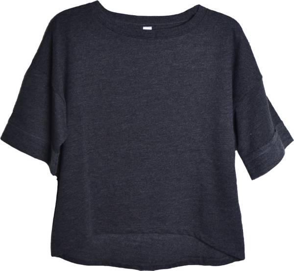 Soffe Women's Plus Size Vintage Crop T-Shirt product image