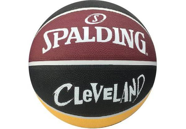 Spalding Cleveland Cavaliers City Edition Full-Sized Basketball product image