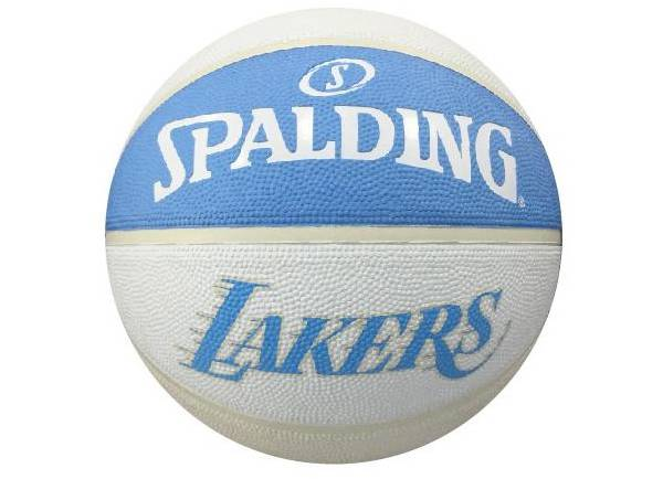Spalding Los Angeles Lakers City Edition Full-Sized Basketball product image