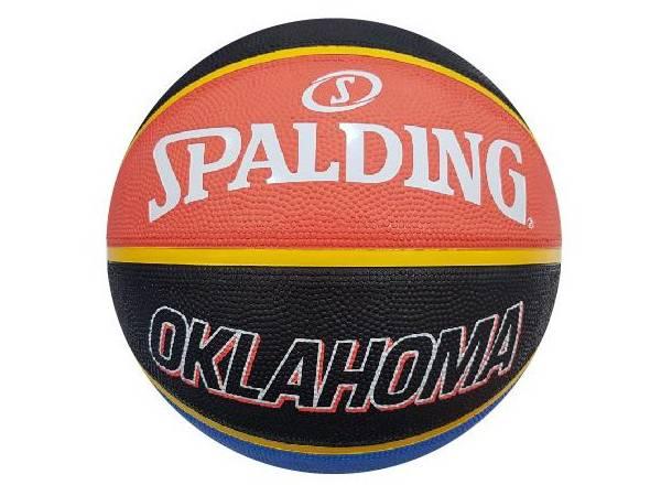 Spalding Oklahoma City Thunder City Edition Full-Sized Basketball product image