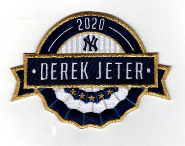 The Emblem Source New York Yankees Derek Jeter 2020 Hall of Fame Patch product image