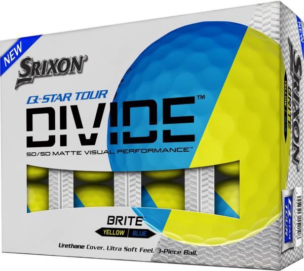 Srixon Q-Star Tour Divide Blue/Yellow Golf Balls product image
