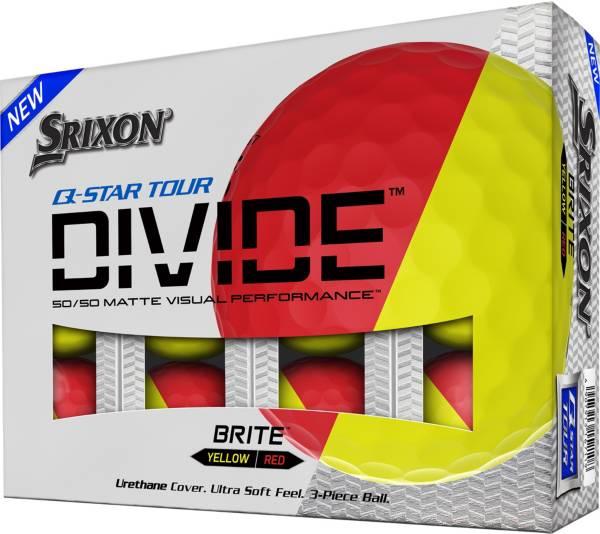 Srixon Q-Star Tour Divide Red/Yellow Golf Balls product image