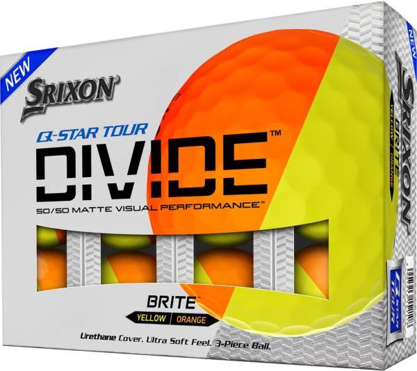 Srixon Q-Star Tour Divide Orange/Yellow Golf Balls product image