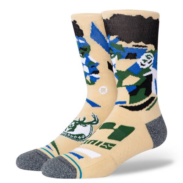 Stance Milwaukee Bucks Giannis Antetokounmpo Profile Crew Socks product image